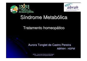 Síndrome metabólica - Associação Brasileira de Reciclagem e ...