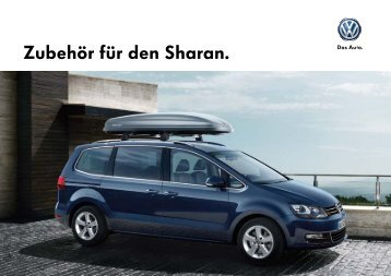Zubehör für den Sharan. - Volkswagen AG