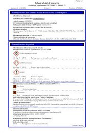 Scheda di dati di sicurezza - Micerium