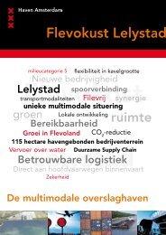 Havenbedrijf Amsterdam - Gemeente Lelystad