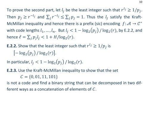 ICT12 2. Huffman codes