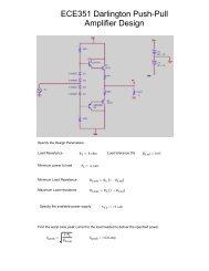 Class AB Push-Pull Vacuum Tube Guitar Amplifier Analysis