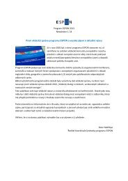 Newsletter 18 - Ústav územního rozvoje