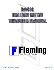 Steel Doors & Frames - Fleming Door Products