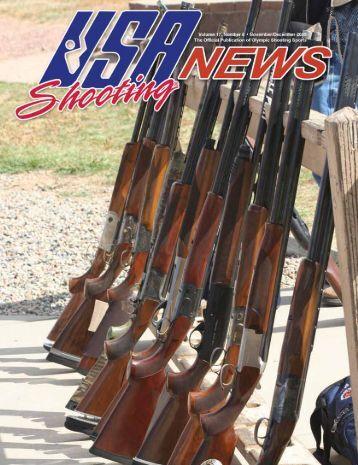 November/December 2009: Volume 17, Number 6 - USA Shooting