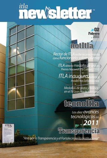 ITLA Newsletter Febrero 2011