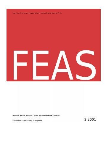 ass 2/2001 bis - FEAS Fédération suisse des employés en ...