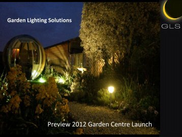 Preview 2012 Garden Centre Launch - Four Oaks Trade Show