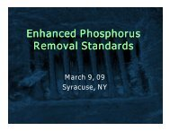 Enhanced Phosphorus Removal Standards (Shohreh Karimipour ...