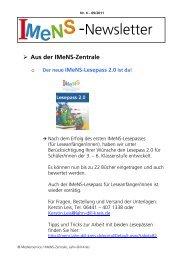 Newsletter Nr. 04 09/2011 - IMeNS Portal - Lahn-Dill-Kreis