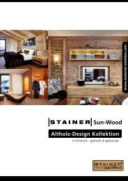 Altholz-Design Kollektion - WVS-Ostrowski