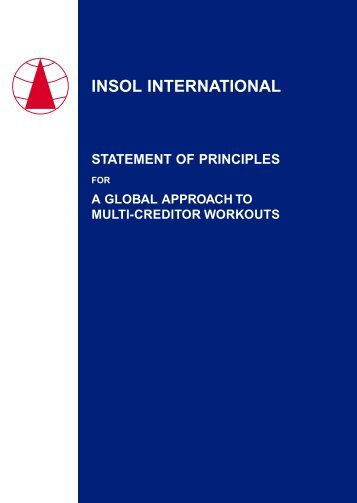 statement of principles for a global approach to multi-creditor workouts