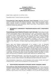 Protokół nr XIII/11 sesji Rady Miejskiej Wrocławia z 7 lipca 2011 r.