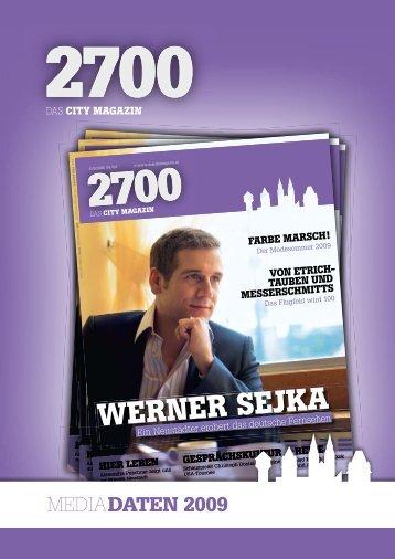 WERNER SEJKA WERNER SEJKA WERNER ... - das City Magazin