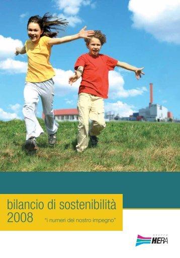 Bilancio di Sostenibilità 2008 - Il Gruppo Hera