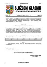 Službeni glasnik Grada Biograda na Moru - broj 9/11 - Grad Biograd ...