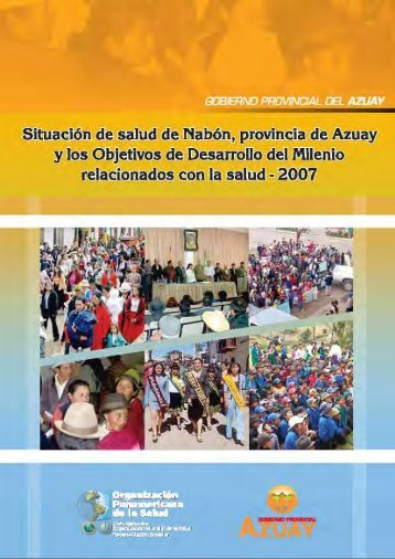 situación de salud de nabón, provincia del azuay y los ... - PAHO/WHO