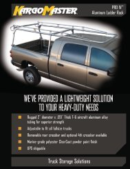 KargoMaster® PRO IV Adjustable Fullsize Aluminum Ladder ... - Delta