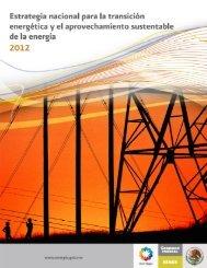 Estrategia Nacional para la Transición Energética y el ...