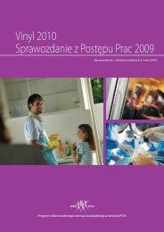 Vinyl 2010 Sprawozdanie z Postępu Prac 2009 - VinylPlus