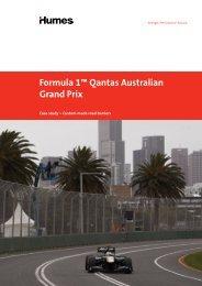 Formula 1™ Qantas Australian Grand Prix - Humes