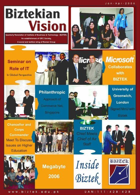 Seminar on - Institute of Business & Technology