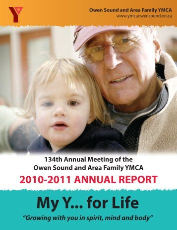 My Y... for Life - Owen Sound And Area Family YMCA