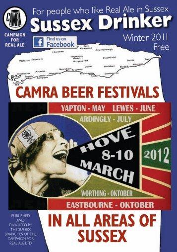 Sussex Drinker: Winter 2011 - Arun & Adur CAMRA