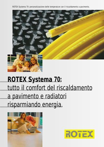 ROTEX Systema 70: tutto il comfort del ... - Esedra ENERGIA