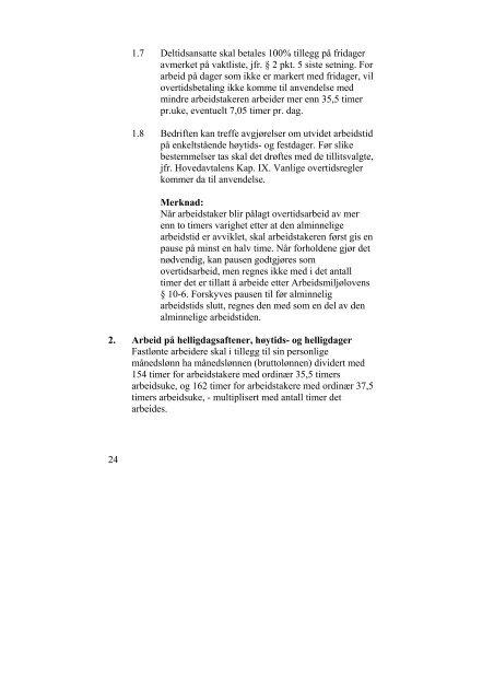 Riksavtalen 2008-2010 - Fellesforbundet