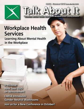 Summer 2010 Issue 3: July 2010 - Canadian Mental Health ...