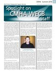 Summer 2010 Issue 3: July 2010 - Canadian Mental Health ... - Page 5