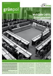 Nr. 36 - Ausgabe Februar 2011 - Grüne Baselland