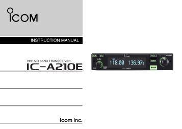 мануал на русском языке icom ic-7600