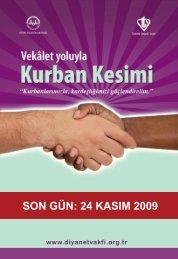 son gün - Türkiye Diyanet Vakfı