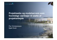 Projektwebs og modelservere - IT in Civil Engineering. Aalborg ...