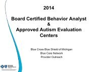 Board-certified behavior analyst town hall presentation - e-Referral