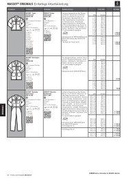 MASCOT® ORIGINALS Einfarbige Arbeitskleidung 6KFPU 9KGPU ...