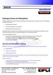 WHELEN - EPCI ENGINEERING