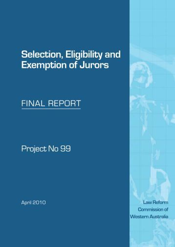 Law reform my report