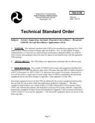Technical Standard Order - ADS-B for General Aviation