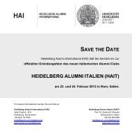 hait - Heidelberg Alumni International
