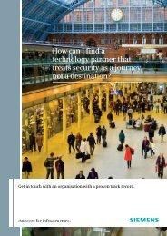 Rail brochure - Industry UK - Siemens