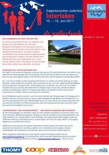 dr Jodlerfunk - Ausgabe 6 - Jodlerklub Farnsburg Gelterkinden