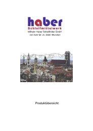 Einseitige Modellbauscheiben -  Wilhelm Haber Schleifmittel GmbH