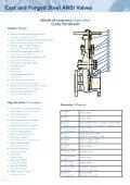Válvulas Fundidas y Forjadas ANSI - Eriks UK - Page 5