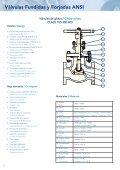 Válvulas Fundidas y Forjadas ANSI - Eriks UK - Page 7