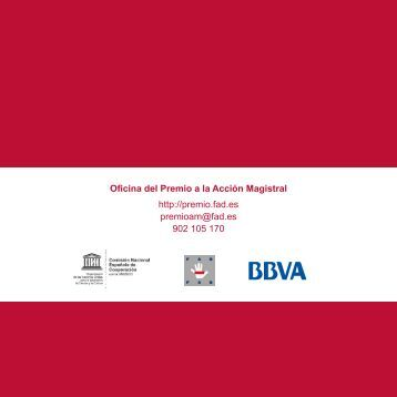 Convocatoria del Premio Accion Magistral