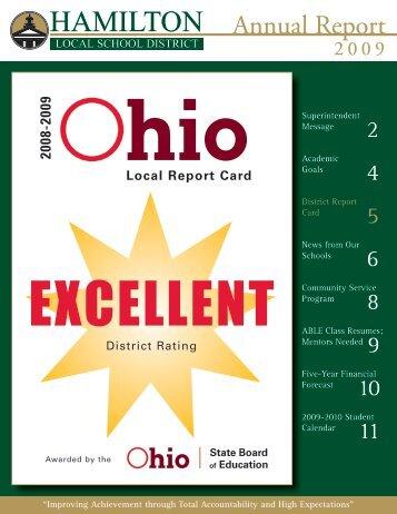 Annual Report - Hamilton Local Schools