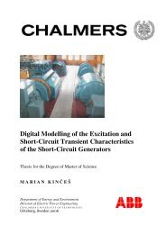 Digital Modelling of the Excitation and Short-Circuit Transient ...